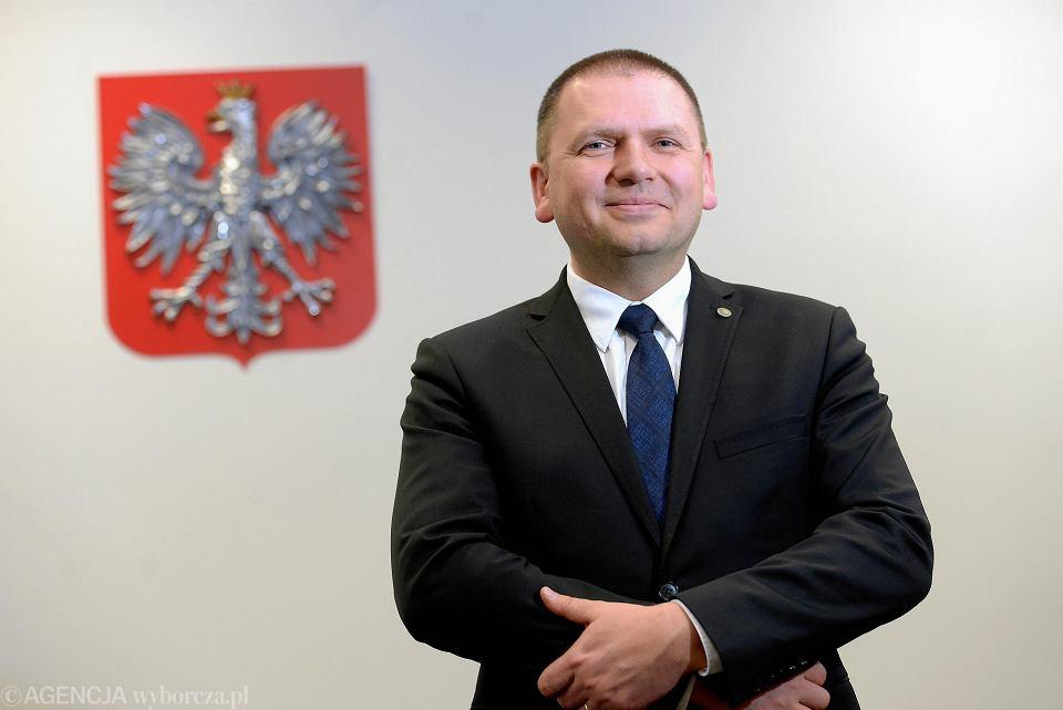 Sędzia Maciej Nawacki, prezes Sądu Rejonowego w Olsztynie