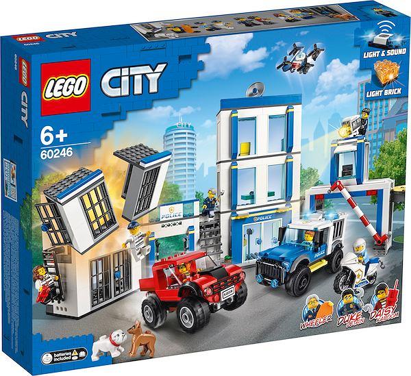 Lego city posterunek