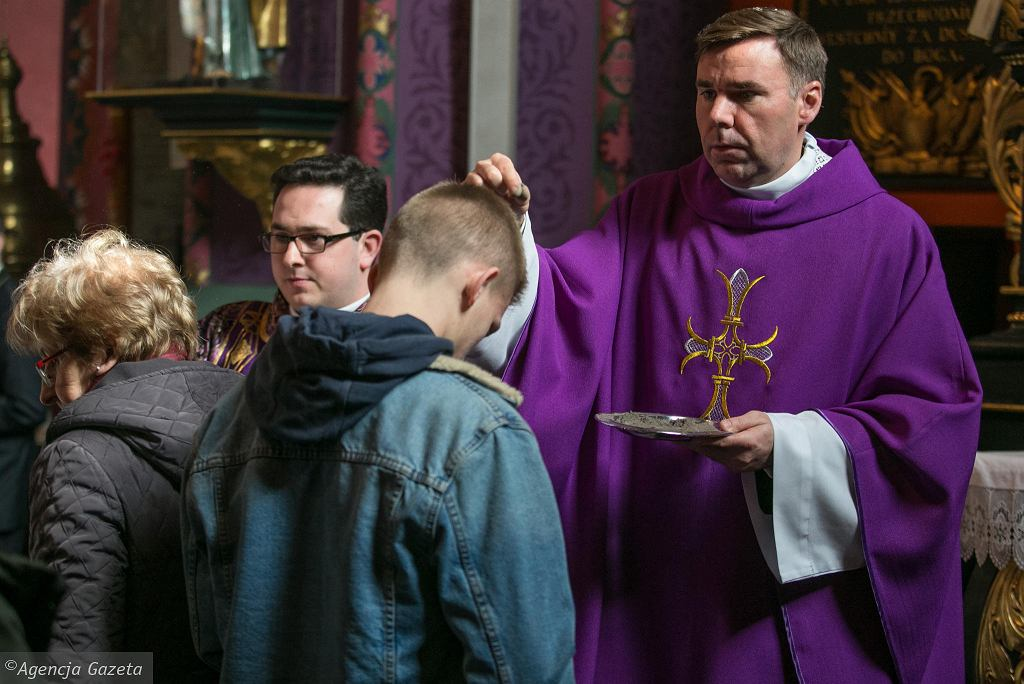 Środa Popielcowa w bydgoskiej katedrze