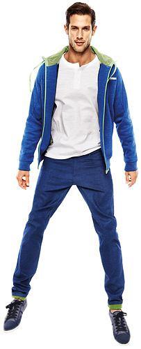 Modne kolorowe spodnie, spodnie, moda męska, Spodnie z kolekcji Reserved, bawełna. Cena: 149,90 zł