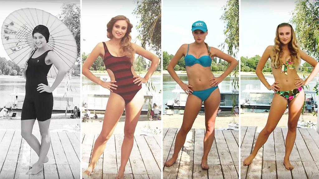 100 lat kostiumów kąpielowych - jak zmieniała się moda plażowa?