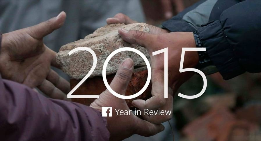 Facebook podsumowuje rok 2015