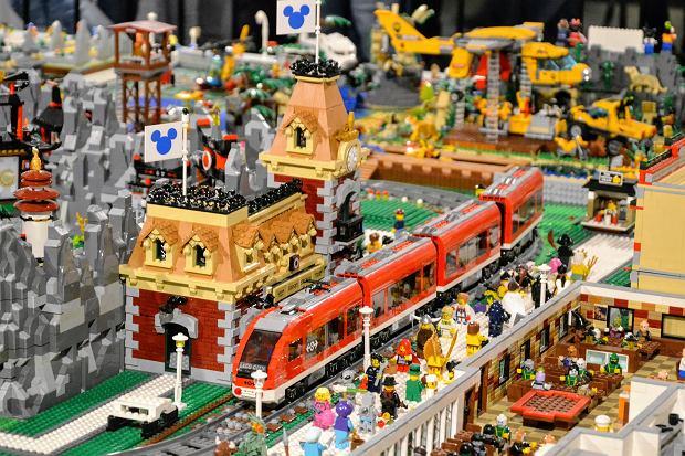 Fragment wystawy Lego w Warszawie, 2020 r. (fot. Shutterstock)