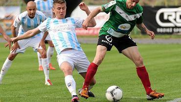 Mecz GKS Tychy w Olsztynie ze Stomilem