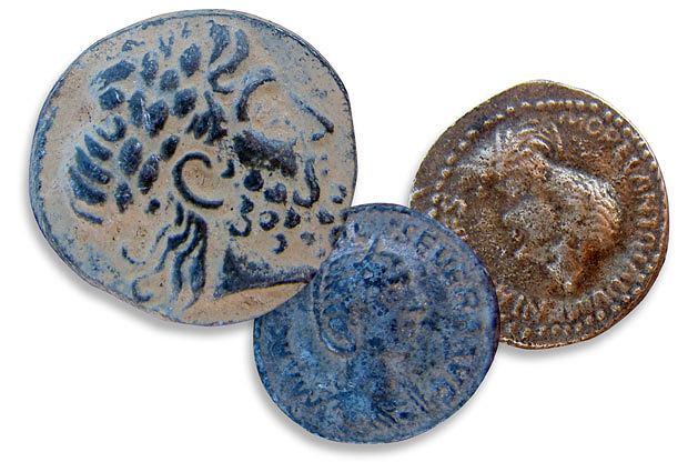 podróże, azja, Życie pustyni: podróż do Jordanii, monety z czasów nabatejskich i rzymskich