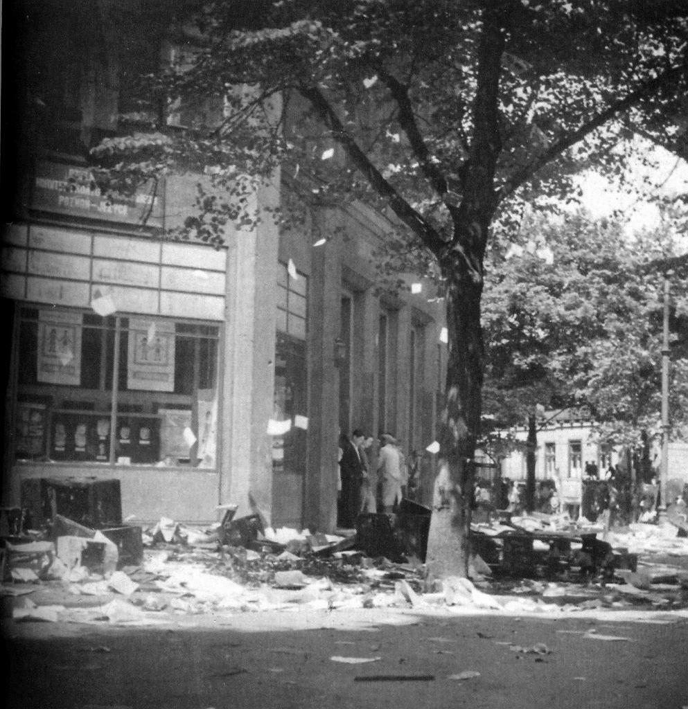 Czerwiec 1956. ZUS na Jeżycach w Poznaniu