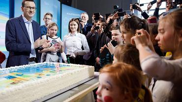 Mateusz Morawiecki na imprezie z okazji trzech lat programu '500 plus'
