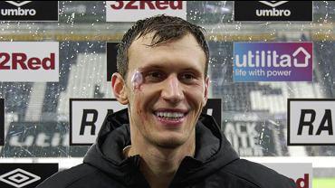 Krystian Bielik (Derby County) po meczu z Bournemouth (1:0) i strzelonym golu. Źródło: dcfc.co.uk (oficjalny portal Derby)