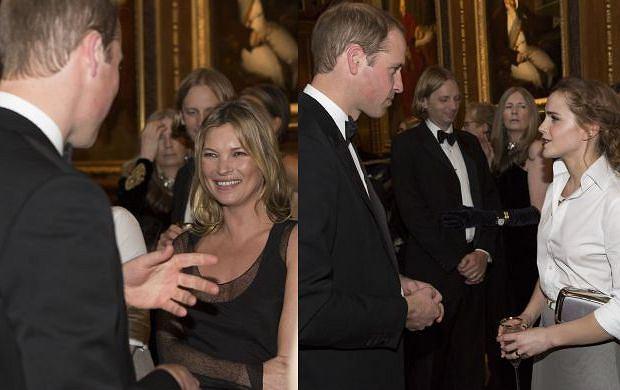 Gwiazdy pojawiły się na charytatywnym przyjęciu zorganizowanym przez księcia Williama w zamku Windsor z okazji prac związanych z Royal Marsden Hospital, którego książę jest prezesem. Na salonach tym razem zabrakło księżnej Kate. Nie pojawiła się na kolacji ani after party, tłumacząc swoją nieobecność