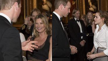 """Gwiazdy pojawiły się na charytatywnym przyjęciu zorganizowanym przez księcia Williama w zamku Windsor z okazji prac związanych z Royal Marsden Hospital, którego książę jest prezesem. Na salonach tym razem zabrakło księżnej Kate. Nie pojawiła się na kolacji ani after party, tłumacząc swoją nieobecność """"urlopem macierzyńskim"""". Na uroczystej kolacji pojawiły się gwiazdy filmu, teatru, telewizji, mody i świata kultury. Listę 200 zaproszonych osób pomogła przygotować sama redaktor naczelna brytyjskiego """"Vogue'a"""" - Alexandra Shulman. Samotny książę William starał się doskonale wywiązywać z obowiązków gospodarza. Gościom podano między innymi wędzonego łososia z jabłkami, kunsztownie przyrządzoną wołowinę, na deser zaś zaserwowano tartę i lody."""