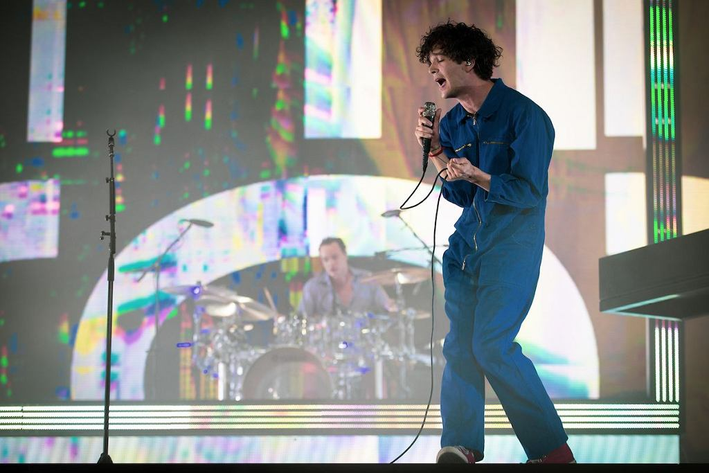 The 1975 na festiwalu Coachella / Pooneh Ghana/Courtesy of Coachella