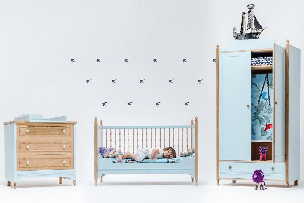 Meble do pokoju dziecięcego od marki Swallow's Tail Furniture.