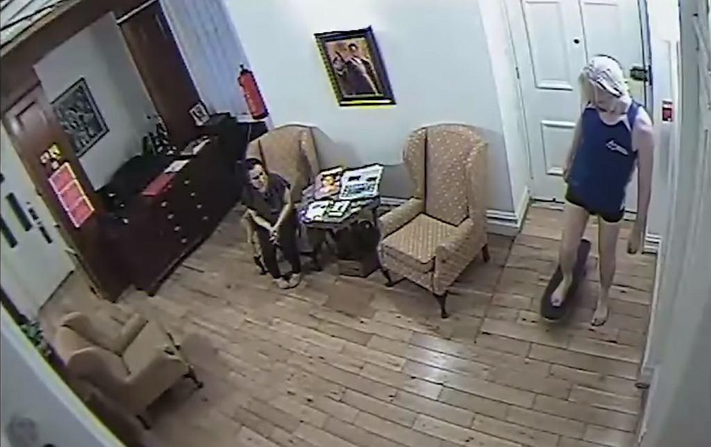 Assange w ambasadzie Ekwadoru