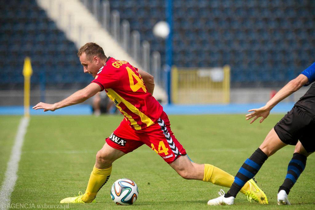 Paweł Golański z powodu kontuzji nie dokończył meczu z Zawiszą