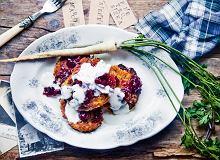 Placki ziemniaczane z warzywami i płatkami owsianymi (po żydowsku) - ugotuj