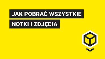 Blox.pl. Jak pobrać wszystkie notki i zdjęcia