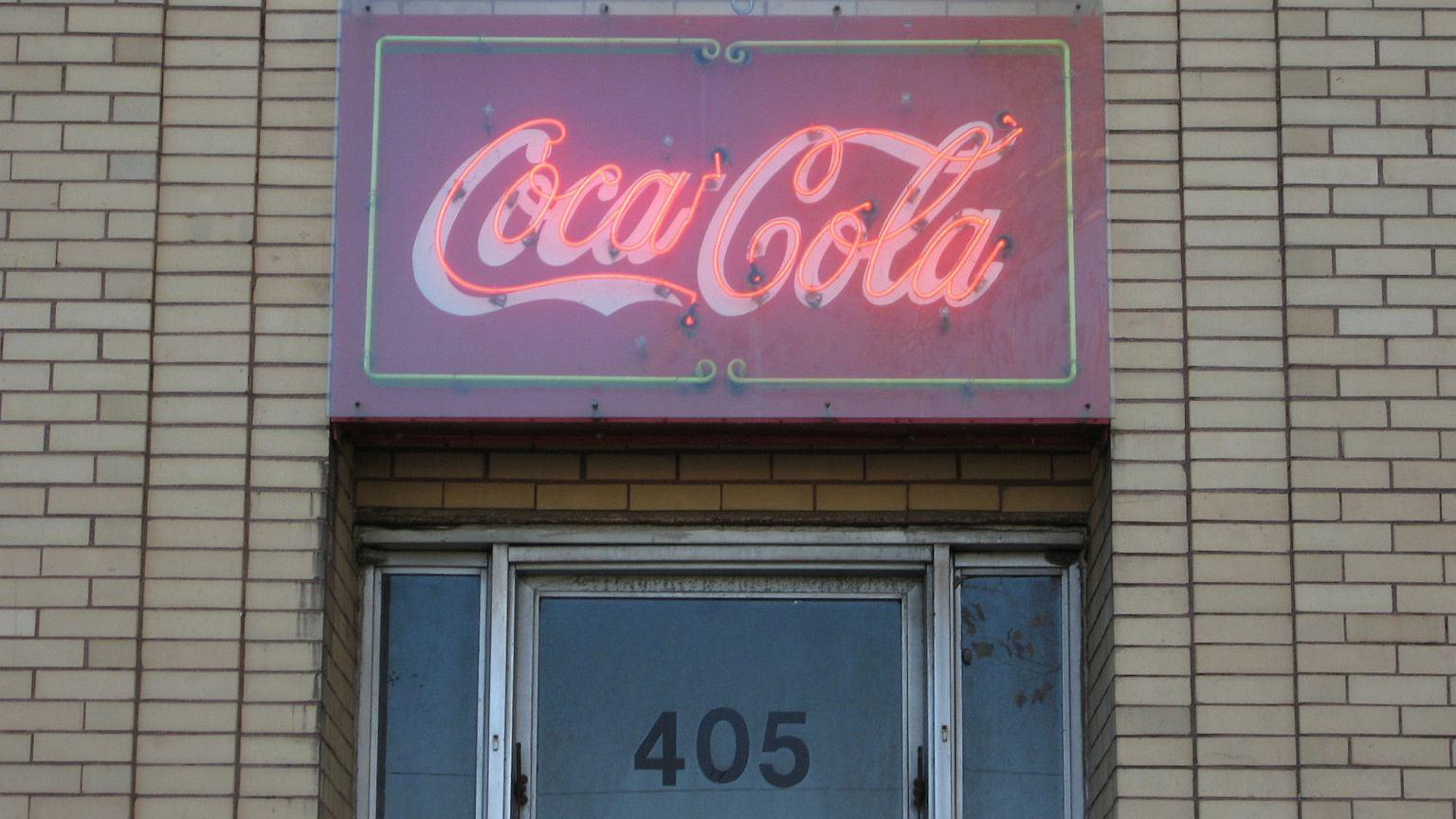 Budynek Coca-Coli w Shelbyville