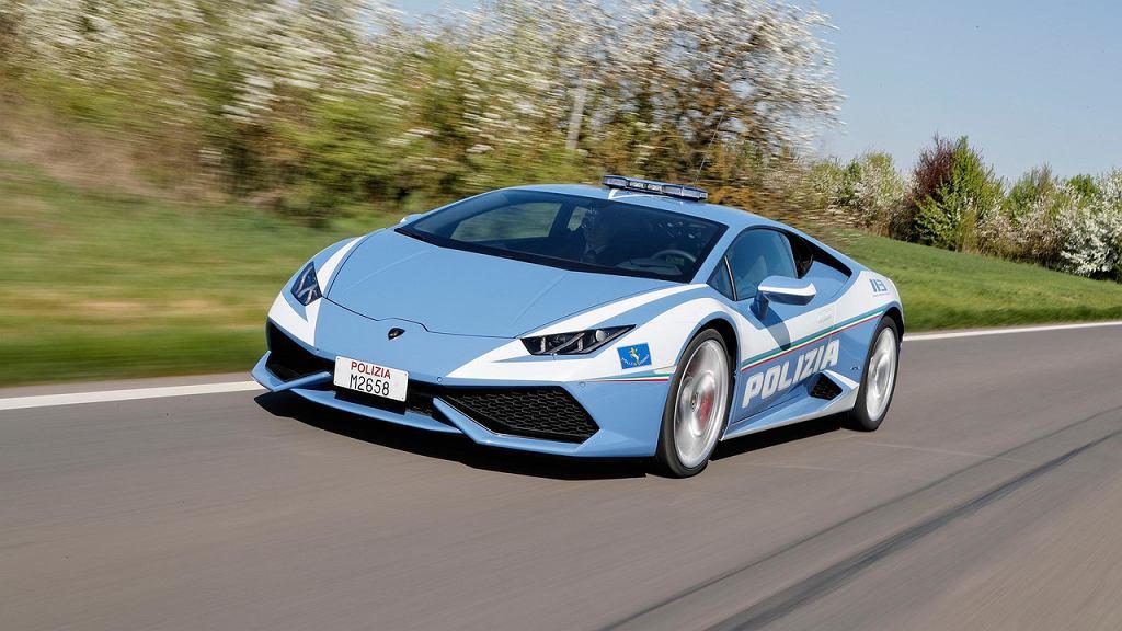 Lamborghini Huracan w służbie policji