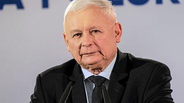 Jarosław Kaczyński o rządzie mniejszościowym: Nie chcę rozważać tych wariantów
