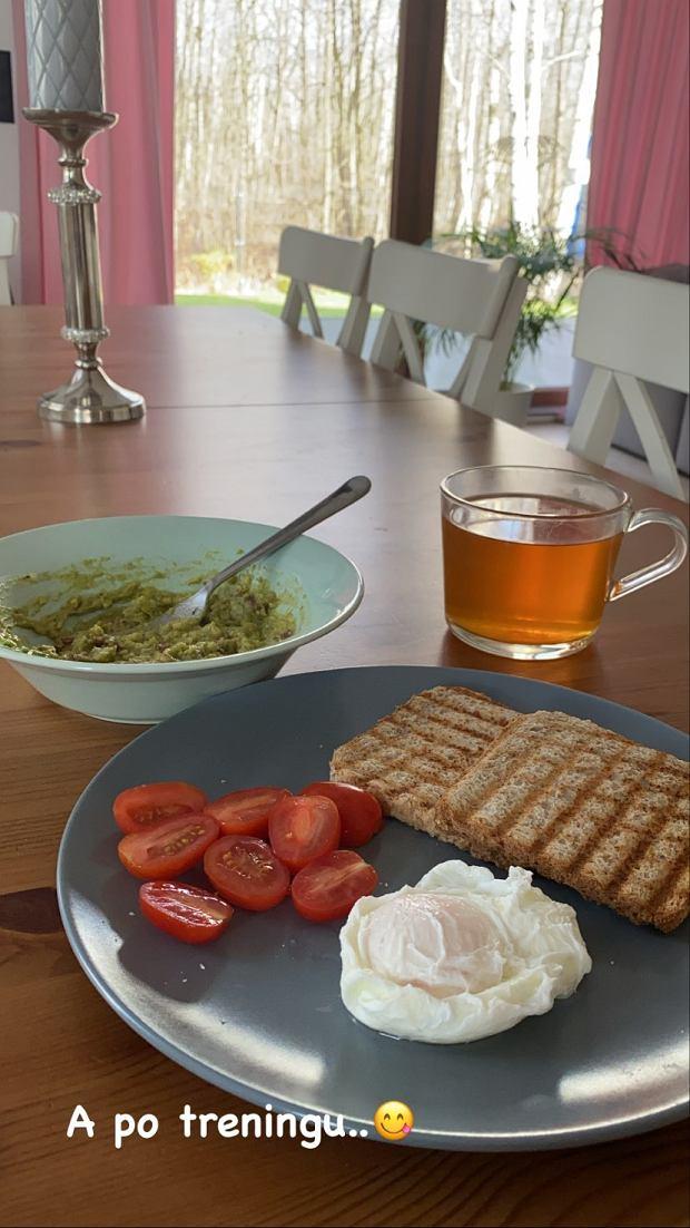 Śniadanie Wiktorii Gąsiewskiej