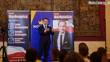 Wykład Sławomira Mentzena w Krakowie