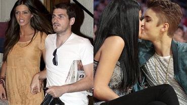 Justin Bieber i Selena Gomez, .Sara Carbonero i Iker Casillas