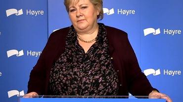Premierka Norwegii Erna Solberg