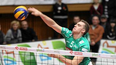 Wojciech Ferens, tu jeszcze w barwach Indykpolu AZS Olsztyn