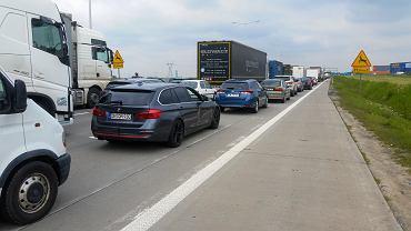 Kolizje na autostradzie A4 pod Wrocławiem. Liczne utrudnienia w ruchu (zdj. ilustracyjne)