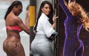 Kim Kardashian, Rihanna, Serena Williams