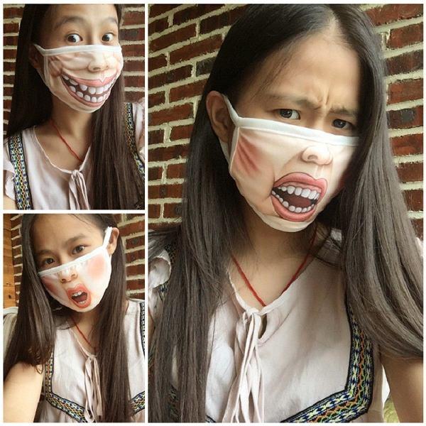 Maska ukrywa twoją twarz, ale może pokazywać emocje. Tylko potrzebujesz więcej masek, jeśli masz zmienne nastroje.