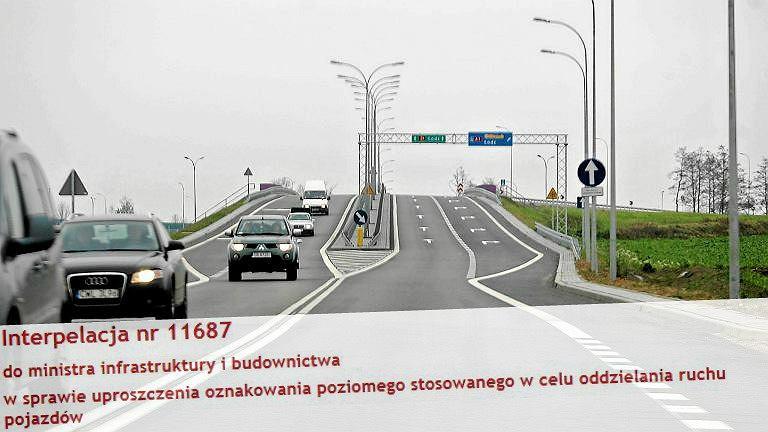 Samochody na autostradzie A1