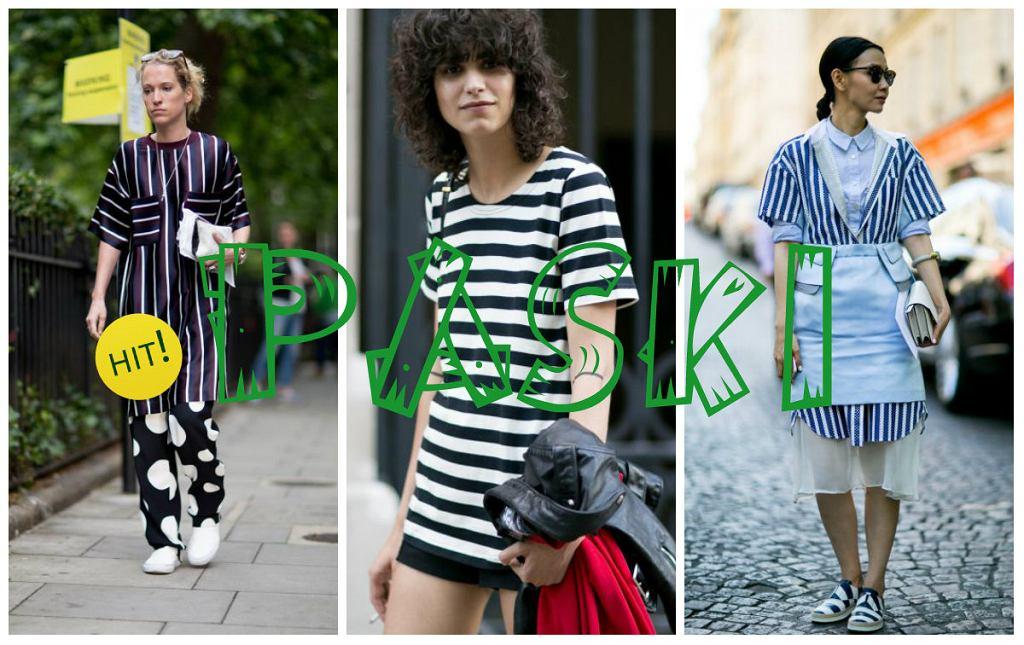 Paski- zobacz jak je nosić [Street fashion z Tygodni Mody 2016]