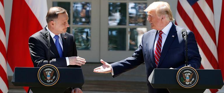 Czy Trump podpisze deklarację większej obecności wojsk USA w Polsce?