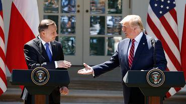 Wizyta prezydenta Andrzeja Dudy w USA. Rozmowy z Donaldem Trumpem. Zdjęcie ilustracyjne