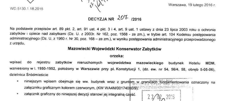 Mazowiecki Wojewódzki Konserwator Zabytków
