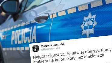 Doradczyni prezesa TVP komentuje rasistowski atak