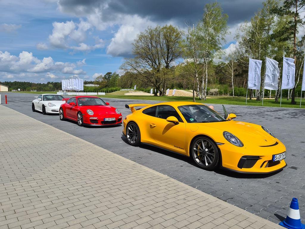 Porsche 911 GT3: 991, 997 i 996