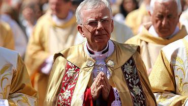 Abp Marek Jędraszewski podczas ubiegłorocznej procesji Bożego Ciała