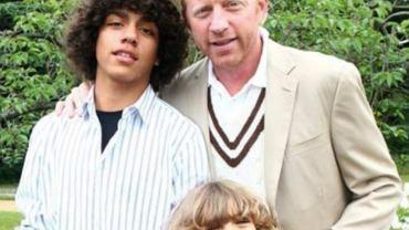 Boris Becker z dziećmi