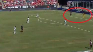 Rozegranie 'piątki' przez Benfikę w meczu z Milanem
