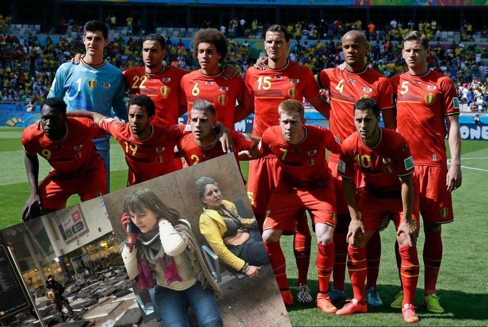 Odwołano trening reprezentacji Belgii
