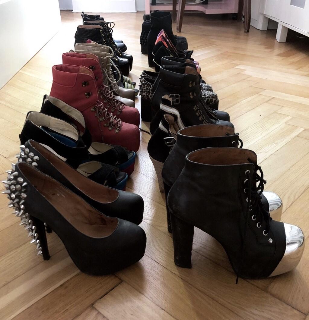 Kolekcja butów Karoliny Opolskiej