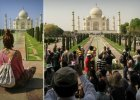 Gdzie podziali się ludzie? Superpopularne turystycznie miejsca na idealnych zdjęciach kontra rzeczywistość