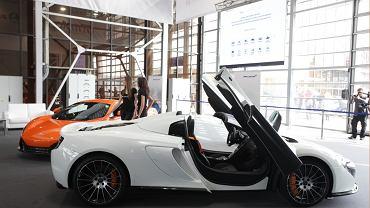 McLaren 650S Coupe i 650S Spider na stoisku Moto.pl