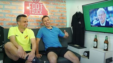 Sławomir Peszko i Radosław Majewski w odcinku na kanale 'Foot Truck'