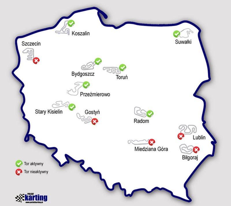 Tory kartingowe w Polsce