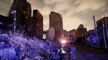 """Mieszkanka Bejrutu o wybuchu w porcie: To była godzina w piekle. """"Budynki rozprysły się na kawałki"""""""