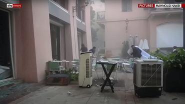 Eksplozja w Bejrucie. Wybuch przerwał sesję ślubną