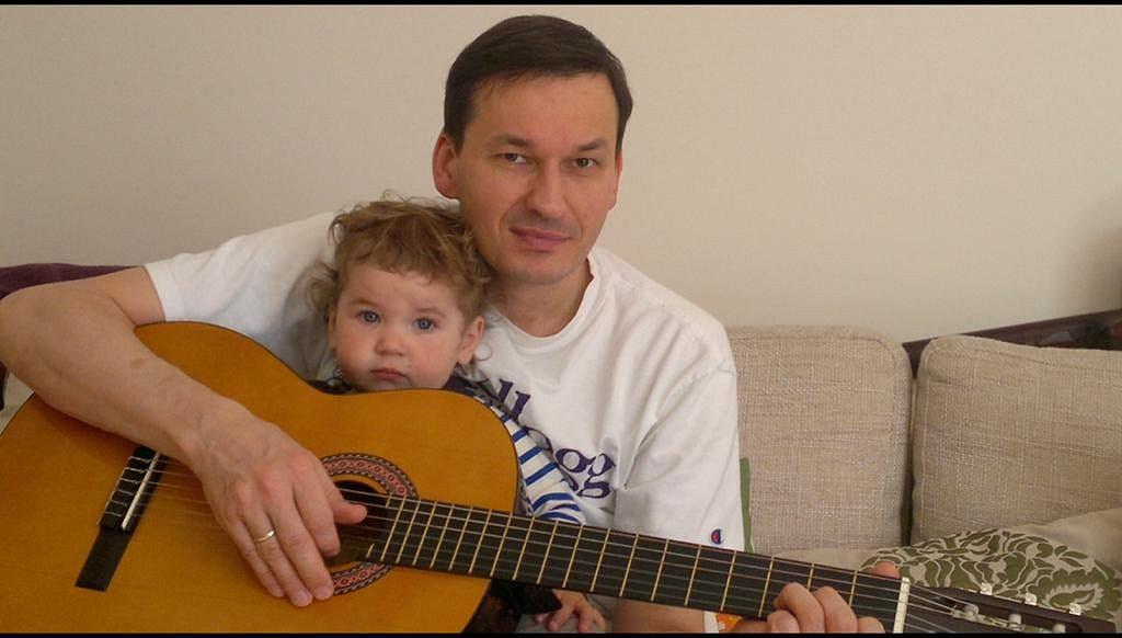 Mateusz Morawiecki z córką